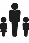 women and children icon